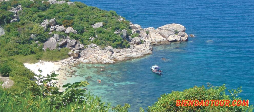 Hòn Rùa đảo Bình Ba Cam ranh