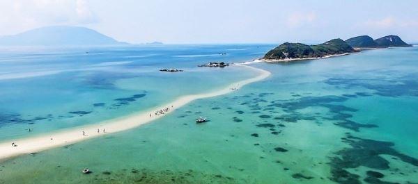 Tour đảo Điệp sơn - Dốc Lết con đường dưới biển