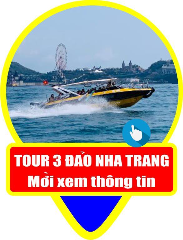 Tour 3 đảo Nha Trang bằng ca no